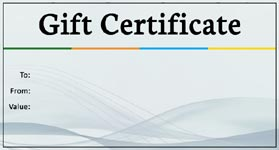 gift certificate business
